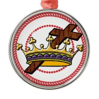 Jesse Tree Crown Ornament #1 ornament