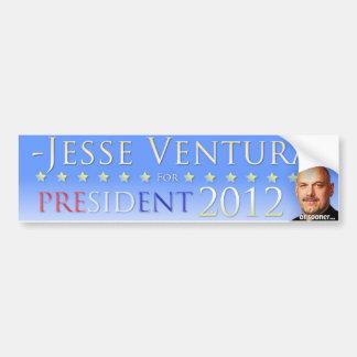 Jesse Ventura 2012 (o más pronto) pegatinas para e Pegatina De Parachoque