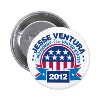 Jesse Ventura for President 2012 Pins