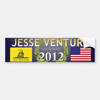 Jesse Ventura for President 2012 - Navy, Olive Bumper Sticker