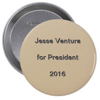 Jesse Ventura for President 2016 Button