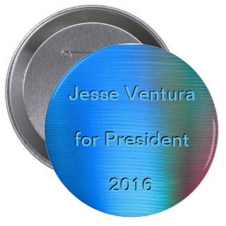 Jesse Ventura for President 2016 Pinback Button