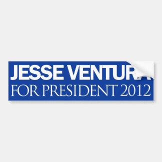 Jesse Ventura Plain Blue 2012 Car Bumper Sticker