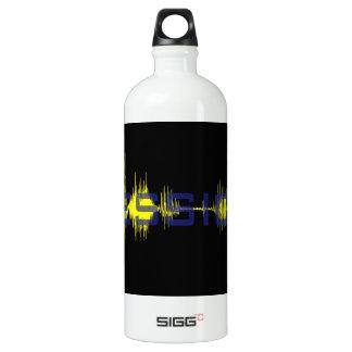 Jessica graphic art Sononome Aluminum Water Bottle