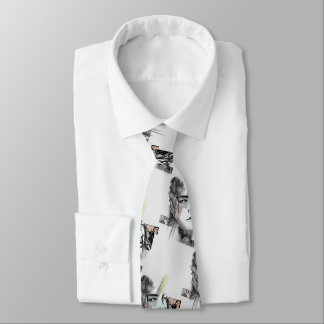 Jessica Jones Face Graphic Neck Tie