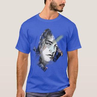 Jessica Jones Face Graphic T-Shirt