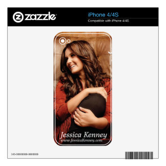 Jessica Kenney iPhone 4/4s Cover Skin For iPhone 4