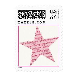 Jessica Melanie star stamp