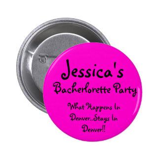 Jessica, qué sucede en Denver. Estancias en el De… Pin Redondo 5 Cm