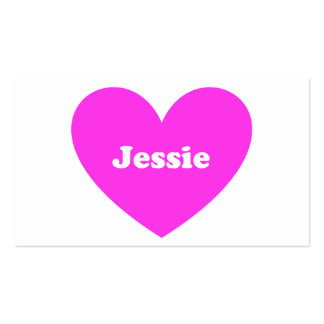 Jessie Double-Sided Standard Business Cards (Pack Of 100)