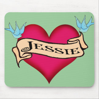 Jessie - camisetas y regalos de encargo del tatuaj alfombrillas de ratones
