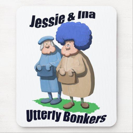 Jessie e Ina Mousemat Alfombrilla De Raton