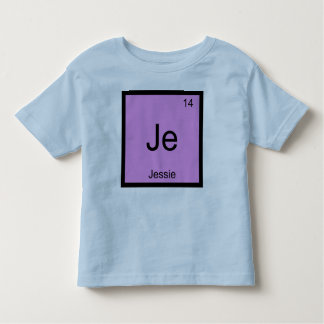 Jessie  Name Chemistry Element Periodic Table Toddler T-shirt
