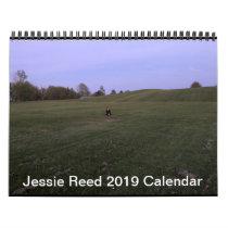 Jessie Reed 2019 Calendar