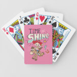 "Jessie ""Time To Shine"" Bicycle Playing Cards"