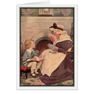 Jessie Willcox Smith - David Copperfield Card
