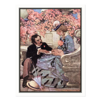 Jessie Willcox Smith - Laurie and Amy Postcard