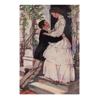 Jessie Willcox Smith - Laurie and Jo Poster