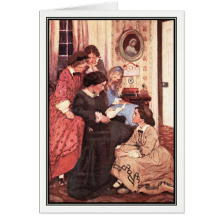 Jessie Willcox Smith - Little Women NEW Book Scan Card