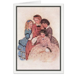 Jessie Willcox Smith - Meg, Jo, Beth and Amy Card