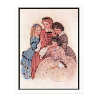 Jessie Willcox Smith - Meg, Jo, Beth and Amy Postcard