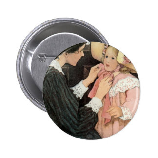 Jessie Willcox Smith Mother Child Mother's Day Pinback Button