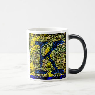 "Jessie's Letter ""K"" Monogram Coffee Mug"