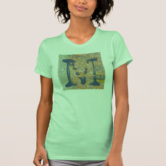"""Jessie's Letter """"M"""" Monogram T-Shirt with Flair"""