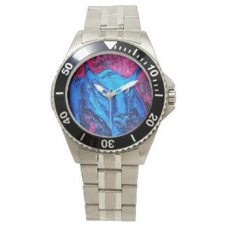 Jessilyn Park Custom Designer Bull Painting Watch