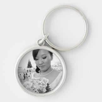 Jessy & Byambaa wedding keychain