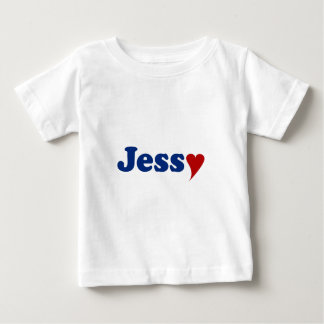 Jessy with Heart Baby T-Shirt