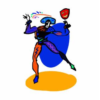 jester ball spinner statuette