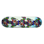 "Jester  ""Chain Of Fools"" #2 Custom Skate Board"