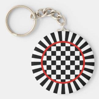 Jester Check Key Chain