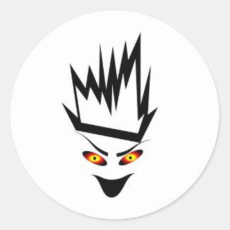 Jester Classic Round Sticker