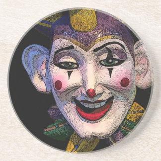 Jester Clown Coasters
