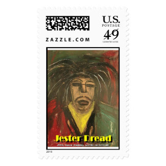 Jester Dread Postage Stamps