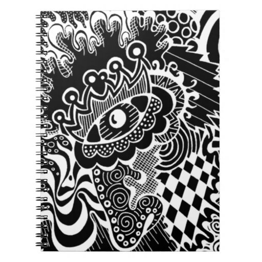 Jester EYE inverted! Notebook