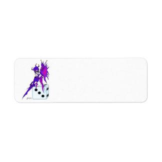 Jester Fairy Label