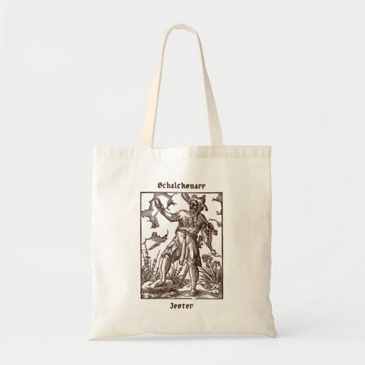 Jester – from the Book of Trades Tote Bag