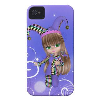 Jester Girl Blackberry Case