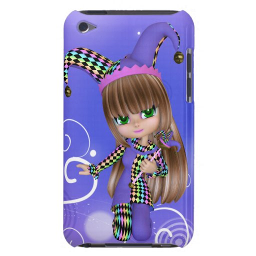 Jester Girl iPod Touch Case