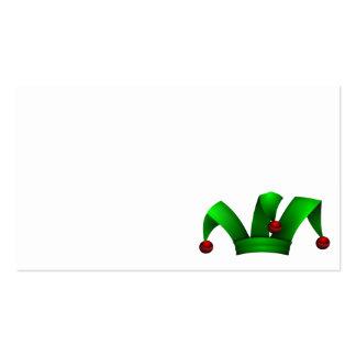 Jester_Hat_Merlin2525 chapeau , clip art , clipart Business Card