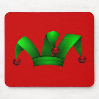 Jester_Hat_Merlin2525 sombrero, clip art, clipart Mouse Pad