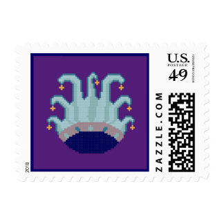 Jester Hat Postage Stamps