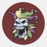 Jester II Classic Round Sticker