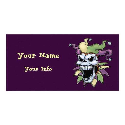 Jester II Customized Photo Card