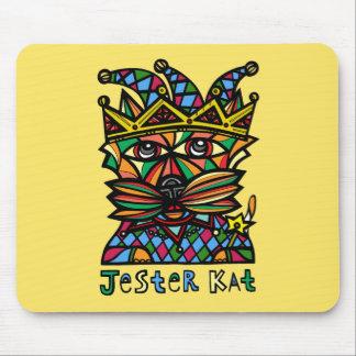 """Jester Kat"" Mousepad"