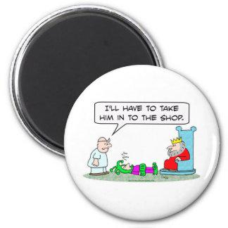 jester king doctor sick shop magnet