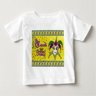 Jester Mask Mardi Gras Harlequin Baby T-Shirt